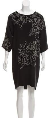 Maiyet Embroidered Mini Dress