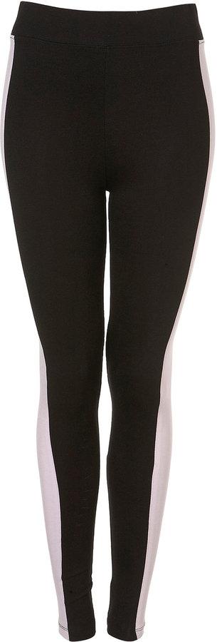 Ponte Side Stripe Leggings