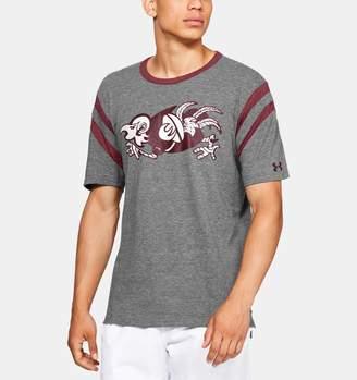Under Armour Men's UA Iconic Stripe Collegiate Short Sleeve Shirt