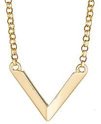 Miansai Women's Mini Angular Necklace - Gold