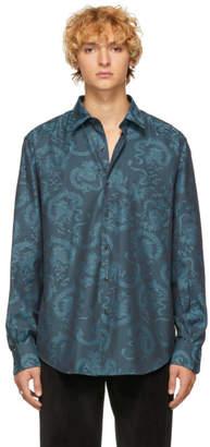 Dragon Optical Cobra S.C. SSENSE Exclusive Blue Reversed Model 1 Shirt
