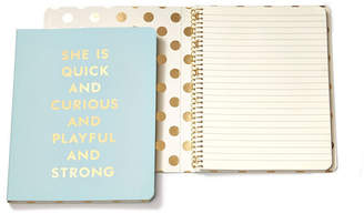 Kate Spade Spiral Notebook, Quick And Curious Blue
