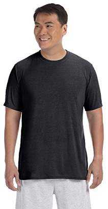 Gildan Men's Short Sleeve 4-Pack 100% Polyester Performance T-Shirt