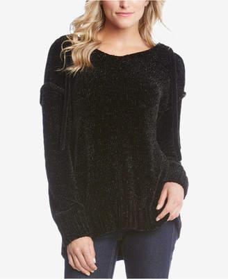 Karen Kane Chenille Hooded Sweater