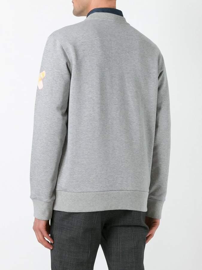 Lanvin X Cédric Rivrain Headphones sweatshirt