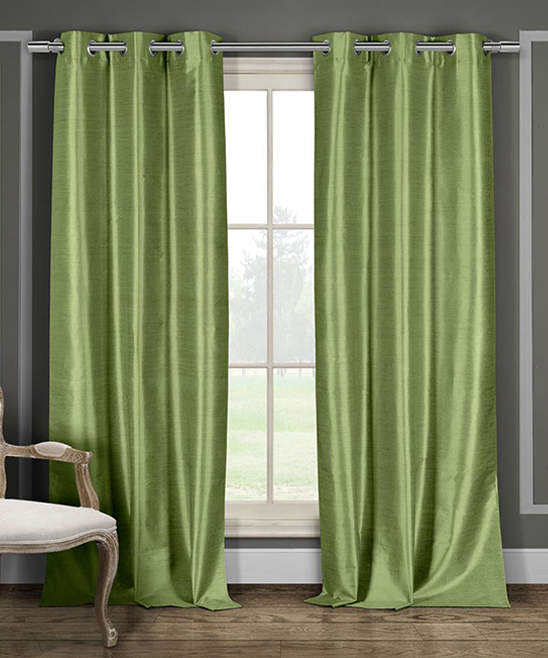 Sage Daenerys Blackout Curtain Panel - Set of Two