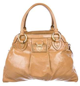 Marc Jacobs Patent Push-Lock Tote