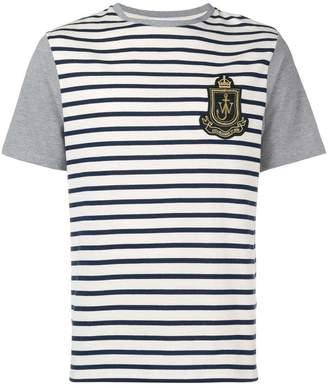 J.W.Anderson striped logo T-shirt