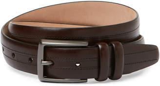 Trafalgar Alan Dark Brown Leather Belt