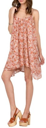 Women's Volcom Laying Low Print Swing Dress $55 thestylecure.com