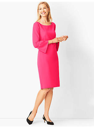 Talbots Crepe Shift Dress - Solid