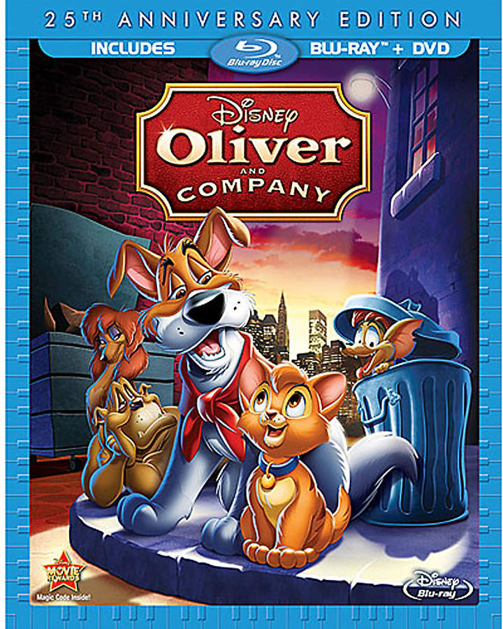 Disney Oliver and Company Blu-ray and DVD Combo Pack