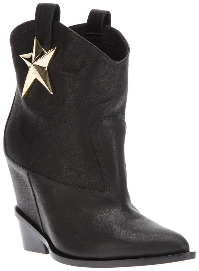 Giuseppe Zanotti Design star cowboy boot