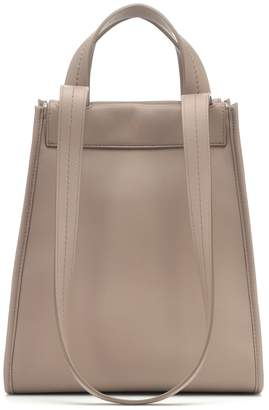 Max Mara Reversible leather shoulder bag