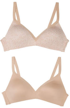 2pk Invisible Bliss Wire-free Bra