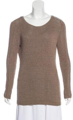 Rachel Zoe Long Sleeve Crew Neck Sweater