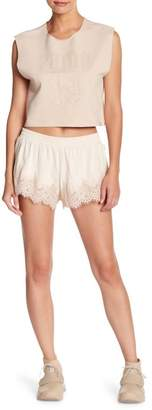 FENTY PUMA by Rihanna Lace Trimmed Sleep Shorts
