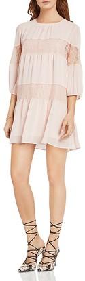 BCBGeneration Lace-Inset Dress $98 thestylecure.com