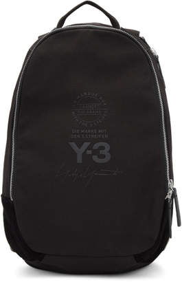 Y-3 Black Logo Backpack