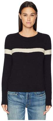 Vince Single Stripe Pullover Women's Clothing