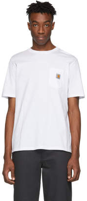 Carhartt Work In Progress White Pocket T-Shirt