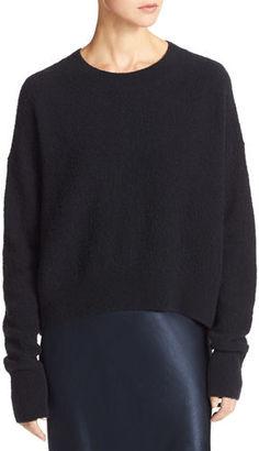 Vince Plush Easy Crewneck Sweater $320 thestylecure.com