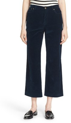 Women's A.p.c. 'Sailor' Corduroy Crop Pants $235 thestylecure.com
