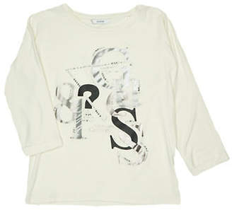 GUESS Graphic Long-Sleeve Tee