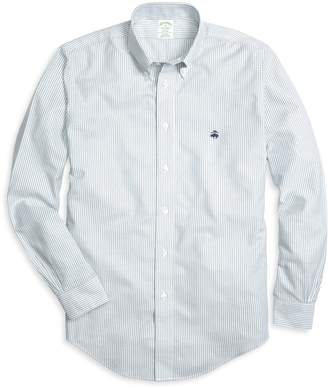 Brooks Brothers Non-Iron Milano Classic Stripe Sport Shirt