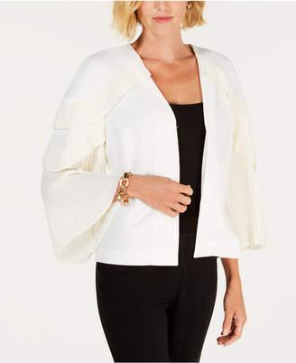 Alfani Pleated-Sleeve Jacket