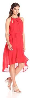 Sangria Women's Boho Dress with Keyhole