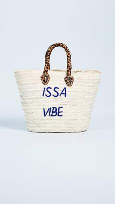 Issa Poolside Bags Le Superette Vibe Tote Bag