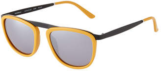 Smoke X Mirrors Pusherman Square Acetate and Stainless Steel Sunglasses