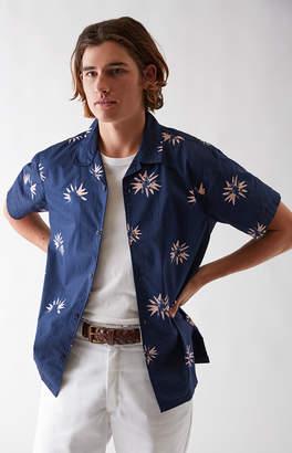 Tavik Villa Floral Short Sleeve Button Up Shirt