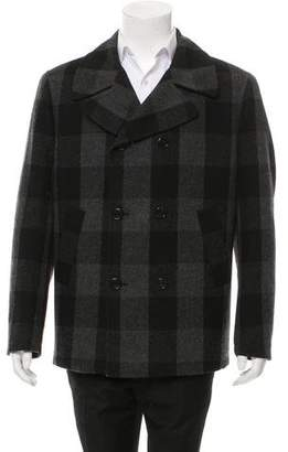 Michael Kors Woven Button-Up Jacket