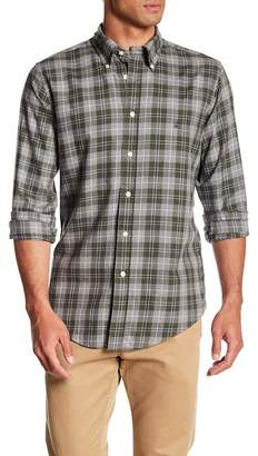 Brooks Brothers Plaid Print Flannel Shirt