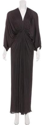 Lanvin Gathered Maxi Dress
