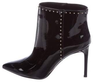 Valentino Rockstud Pointed-Toe Booties w/ Tags