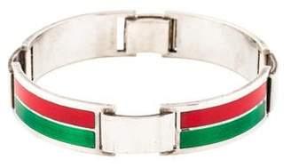 Gucci Vintage Enamel Link Bracelet