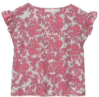 Mint Velvet Pink Daisy Print Top