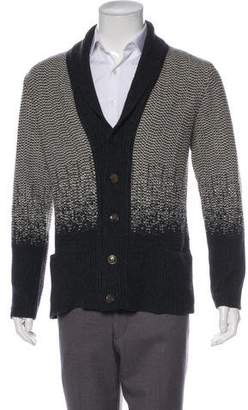 Boglioli Wool Shawl Collar Cardigan w/ Tags
