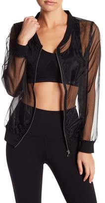 DSGN Yoga Sheer Lightweight Bomber Jacket