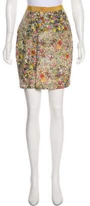 Philosophy di Alberta Ferretti Printed Mini Skirt
