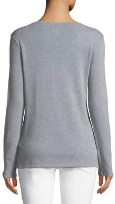 Majestic Cashmere-Merino Crewneck Sweater