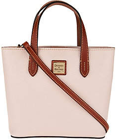 As Is Dooney & Bourke Pebble Leather Mini Waverly Crossbody $103 thestylecure.com