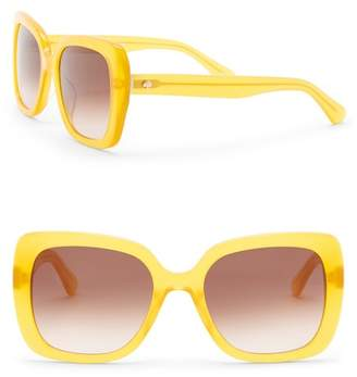 Kate Spade Krystalynn 53mm Square Sunglasses