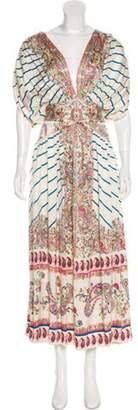 Etro Printed Maxi Dress multicolor Printed Maxi Dress