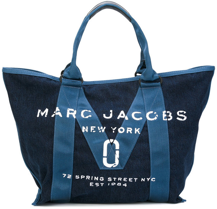 Marc Jacobs Marc Jacobs logo top handle tote