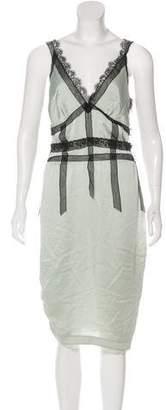 Nina Ricci Sleeveless Midi Dress w/ Tags
