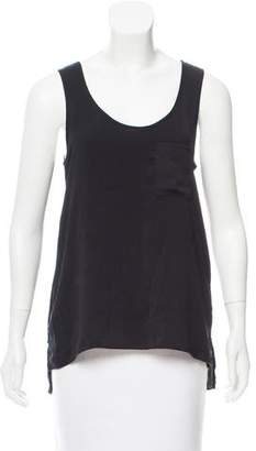 Rag & Bone Scoop Neck Sleeveless Top